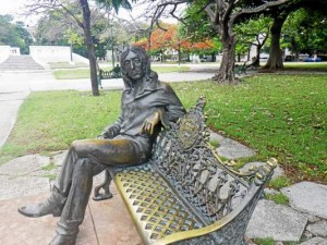 This life-size statue of John Lennon was dedicated in a Havana park by none other than Fidel Castro